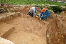 Povoado Neolítico Antigo no Gaio-Rosário<br>Câmara da Moita avança com escavações arqueológicas