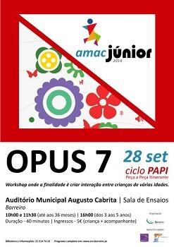 AMAC JUNIOR BARREIRO Ciclo PAPI musica para bebes e criancas ... feedb0d11e