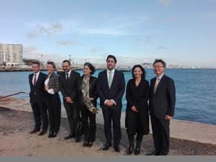Embaixador da Coreia do Sul visita Lisbon South Bay Apresentados ativos da  Baía do Tejo e dos concelhos de Almada 8b1b19116197b