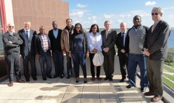Técnicos da Guiné Bissau visitam Sines<br /> Know how e condições de operacionalidade do Porto de Sines foram principais objetivos da visita<br />