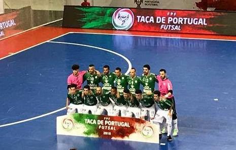 5167bb3c7f Fabril do Barreiro na final da Taça de Portugal de Futsal Fabril vence  Modicus por 3-2