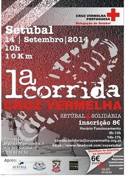 CORRIDA CRUZ VERMELHA em Setúbal <br> Envolver a sociedade civil e tornar esta corrida como uma actividade marcante