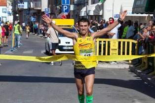 Meia Maratona Ribeirinha da Moita<br> Atletas Bruno Paixão e Cláudia Pereira foram os vencedores