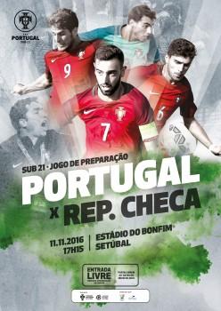 Estádio do Bonfim - Setúbal<br />Recebe jogo Sub-21, Portugal - Republica Checa