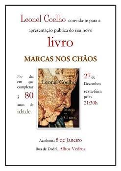 Leonel Coelho de Alhos Vedros, concelho da Moita<br>No dia que assinala 80 anos lança o livro «Marcas nos Chãos»