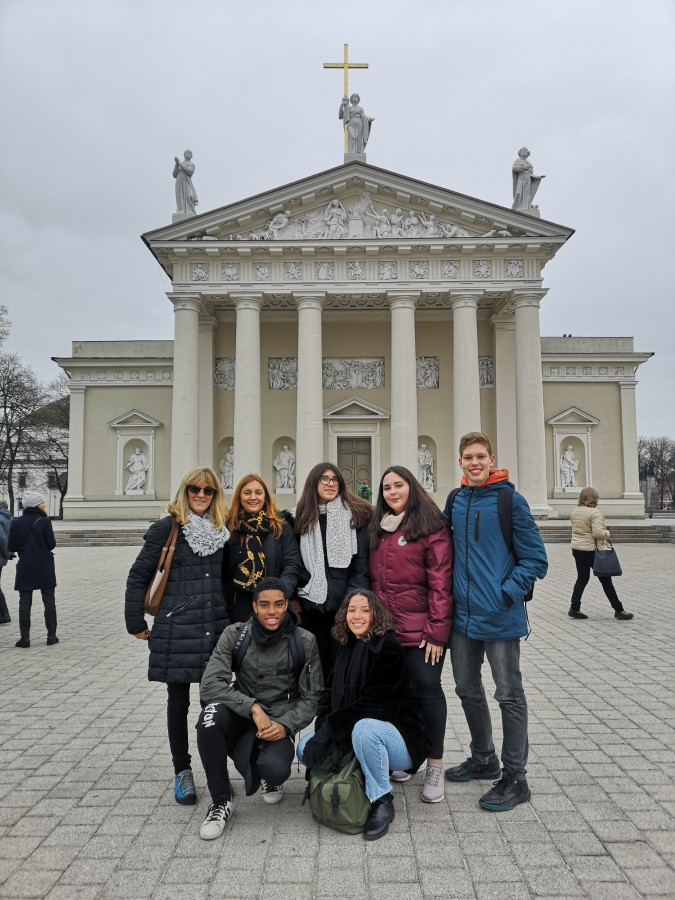 Barreiro - Escola Secundária de Casquilhos na Lituânia<br />