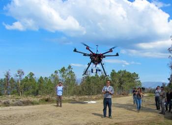 Universidade de Aveiro desenvolve <br /> o primeiro drone de monotorização da saúde das florestas