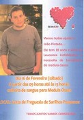 Sarilhos Pequenos - Moita<br> Campanha para doadores de medula óssea para João Pintado